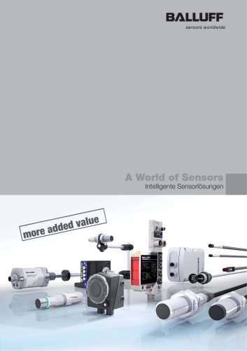 A World of Sensors