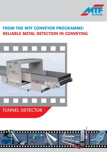 Conveyors with Metal Detection