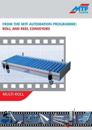 Multi-Roll Roller Conveyor