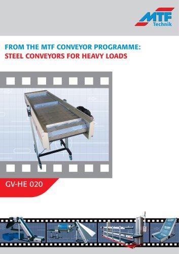 Steel Mesh Conveyors