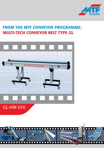 Straight Conveyors GL