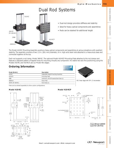 Dual Rod Systems