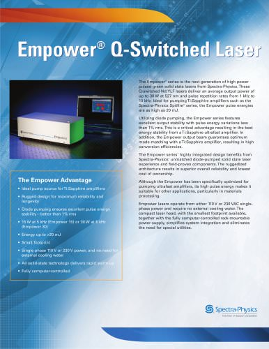 Empower ® Q-Switched Laser