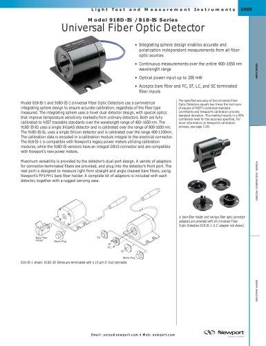 Fiber Optic Detectors