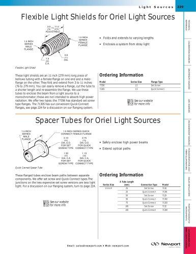 Flexible Light Shields for Light Sources