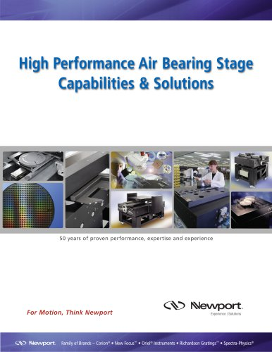 High Performance Air Bearing Stage Capabilities & Solutions