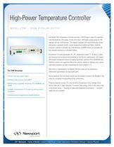 High-Power Temperature Controller, Model 3700-336W Bipolar Output
