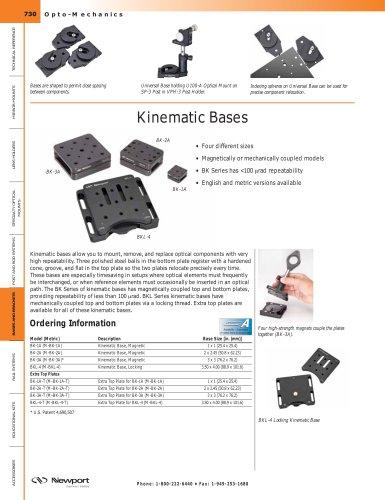 Kinematic Bases