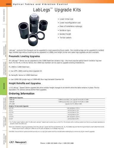 LabLegs™ Upgrade Kits