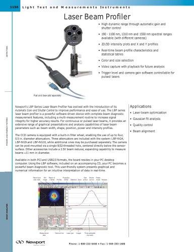 Laser Beam Profiler