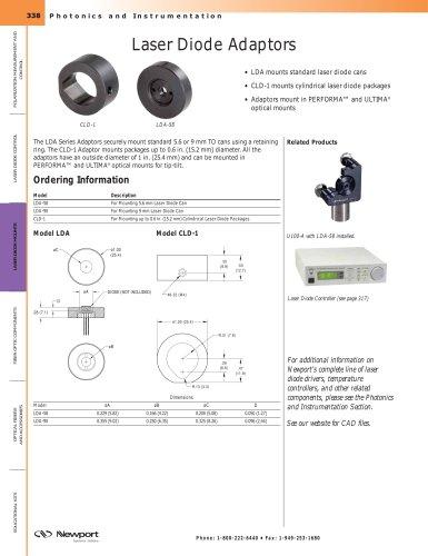 Laser Diode Adaptors
