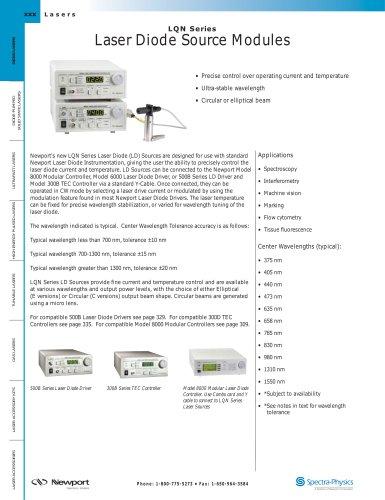 Laser Diode Modules, LQN Series