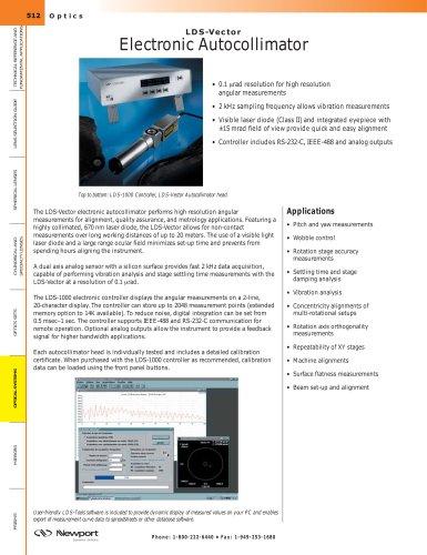 LDS-Vector Electronic Autocollimator
