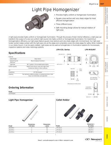 Light Pipe Homogenizer