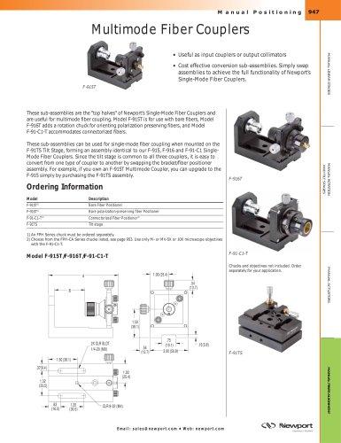 Multimode Fiber Couplers