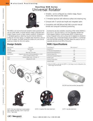 NewStep NSR Series Universal Rotator