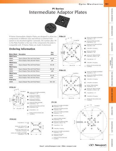 PI Series Intermediate Adaptor Plates