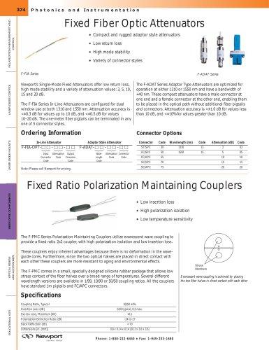 Polarization Maintaining (PM) Fiber Coupler