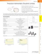 Precision Achromatic Doublet Lenses - 1