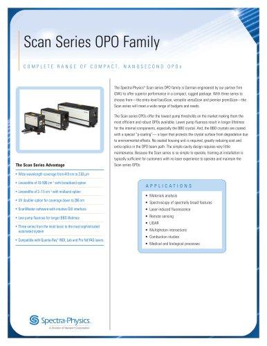 Scan Series Nanosecond OPO Family