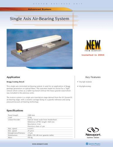 Single Axis Air-Bearing System