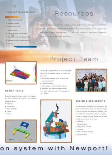 Systems Solutions brochure