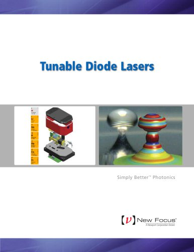 Tunable Diode Lasers