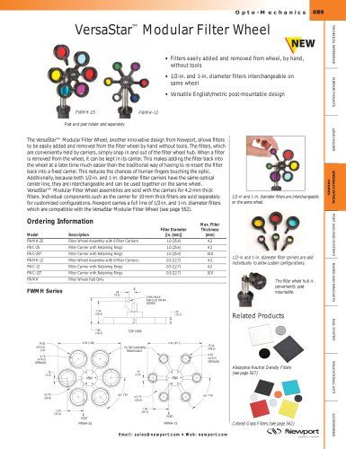 VersaStar™ Modular Filter Wheel