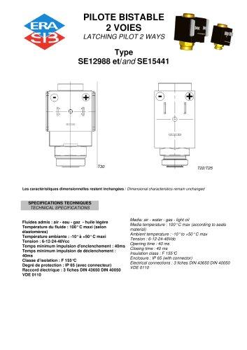 latching pilot valve