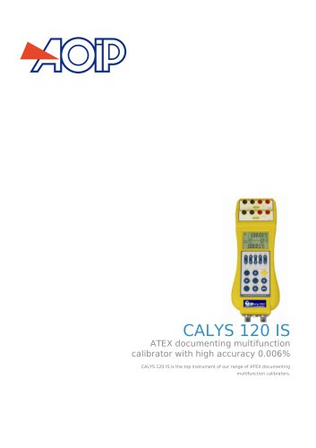 CALYS 120 IS