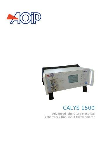 CALYS 1500