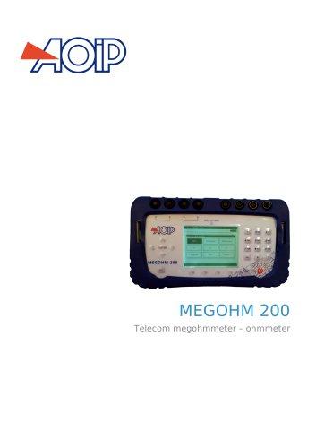 MEGOHM 200