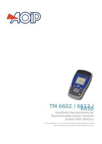 TM 6602 / 6612 / 6630
