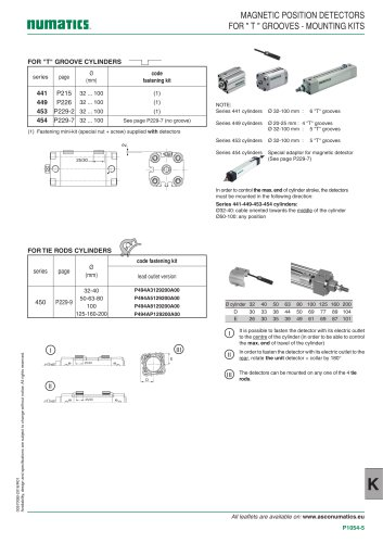 Accessories-Switches / sensors / position indicators-494