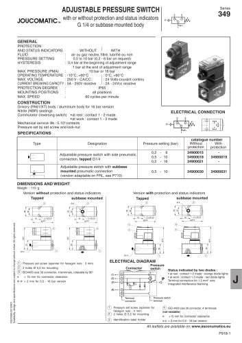 Accessories - Switches - Series 349