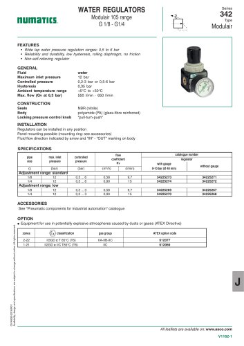 Catalogue-Accessories-Flow Controls and valves-342