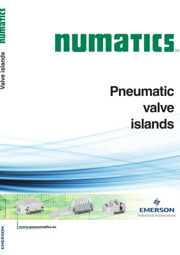 Pneumatic valve islands