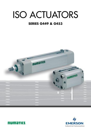 Product Brochure, Iso Actuators - 449 - 453