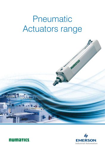 Product Brochure, -Pneumatic actuators range