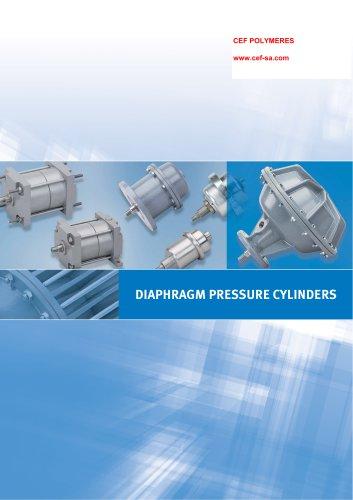 DIAPHRAGM PRESSURE CYLINDERS