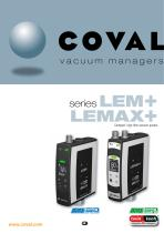 COMPACT, HIGH FLOW VACUUM PUMPS LEM+ / LEMAX+