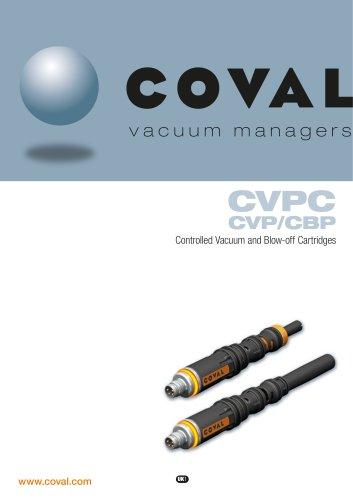 Controlled Vacuum Cartridges CVPC - CVP - CBP