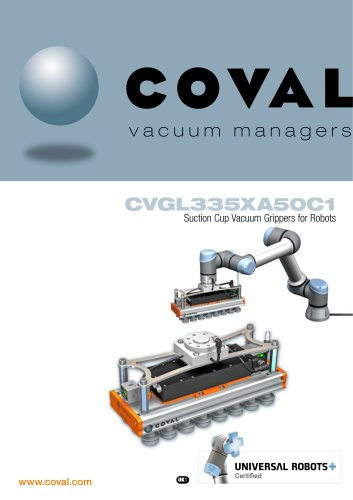 CVGL335XA50C1 Suction Cup Vacuum Grippers for Robots