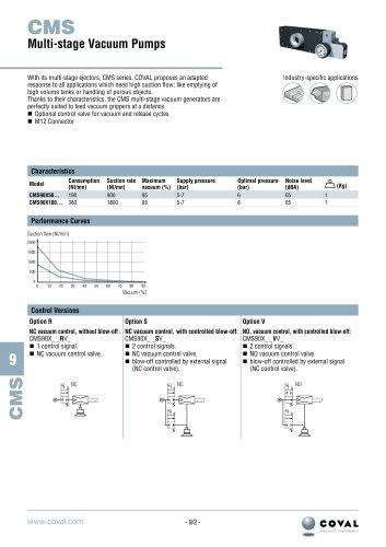 Multi-Stage Vacuum Pump, CMS Series