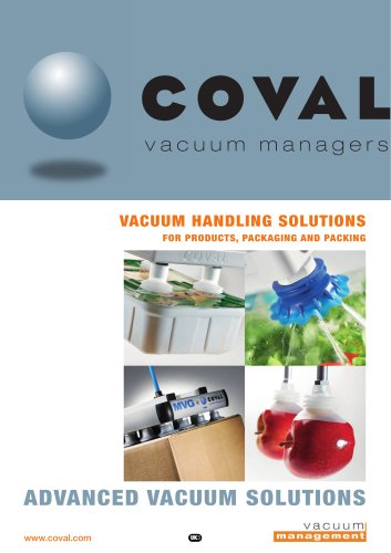 VACUUM HANDLING SOLUTIONS FOR PRODUCTS, PACKAGING AND PACKING