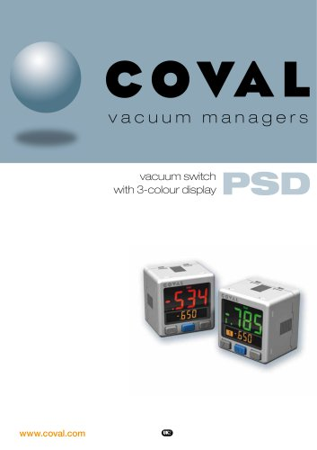 Vacuum switch 3-colour display PSD