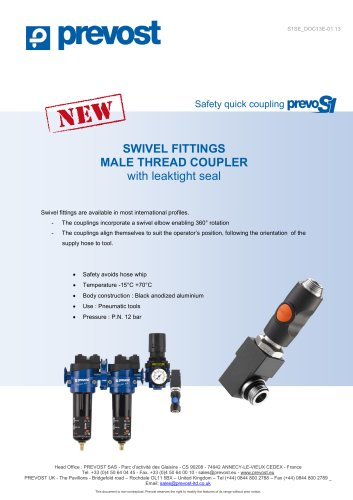 prevoS1_Swivel fittings