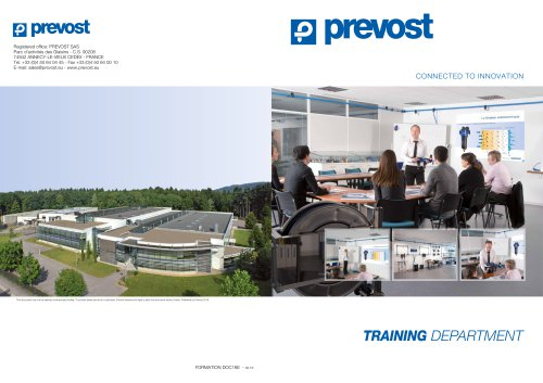 Prevost training department