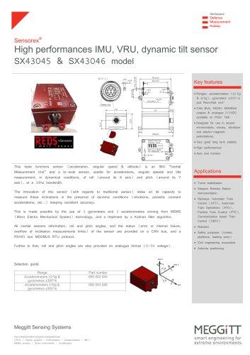 IMU VRU SX43045