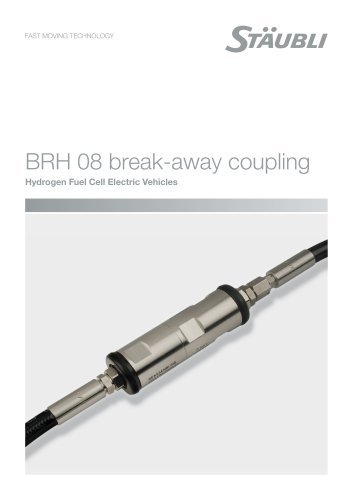BRH 08 break-away coupling - Hydrogen fuel cell electric vehicles